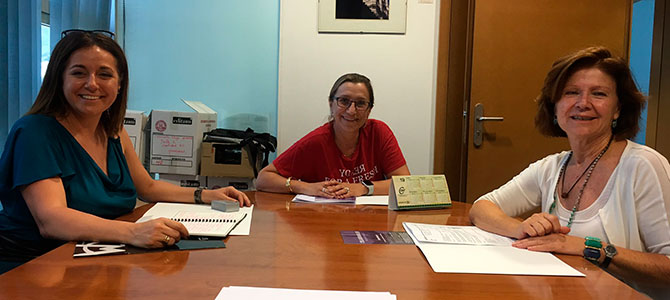 Colabora Mujer se reúne con la UMU para crear sinergias