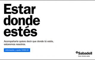 Soluciones covid Banco Sabadell