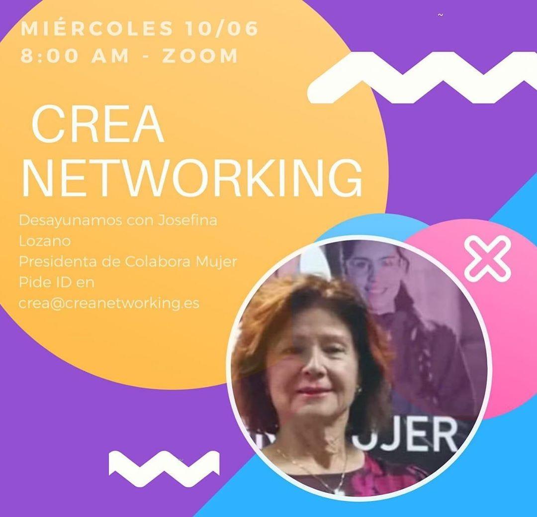 Crea networking. Colabora Mujer