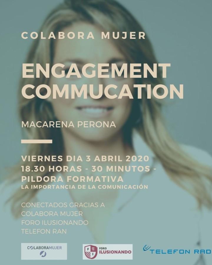 Engagement Commucation. Macarena Perona