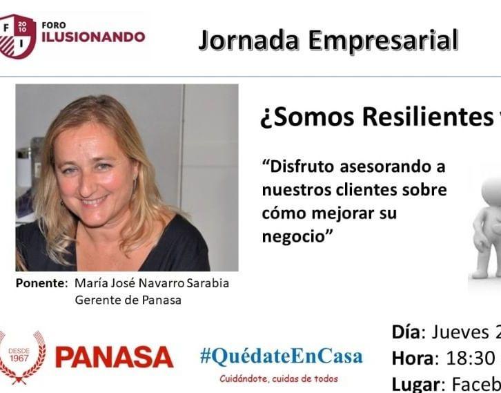 ¿Somos resilientes y flexibles? María José Navarro. Panasa