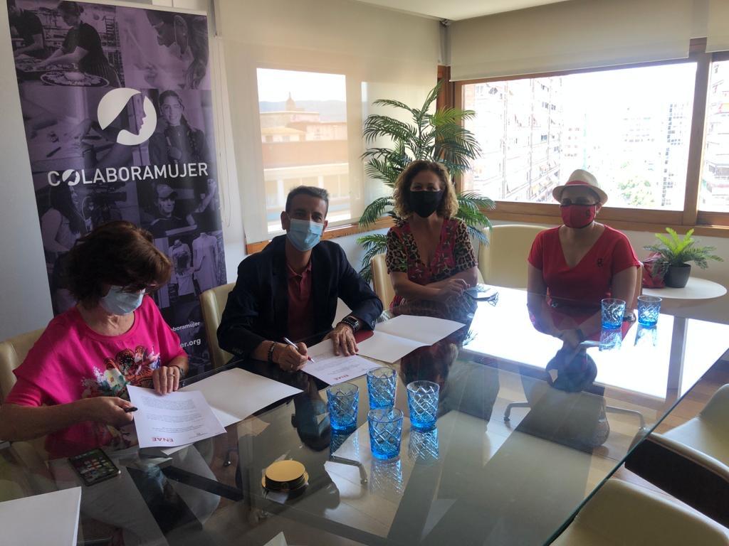 Convenio Colabora Mujer y ENAE